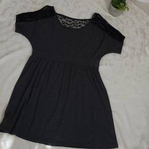 Delirious gray dress sz 1x
